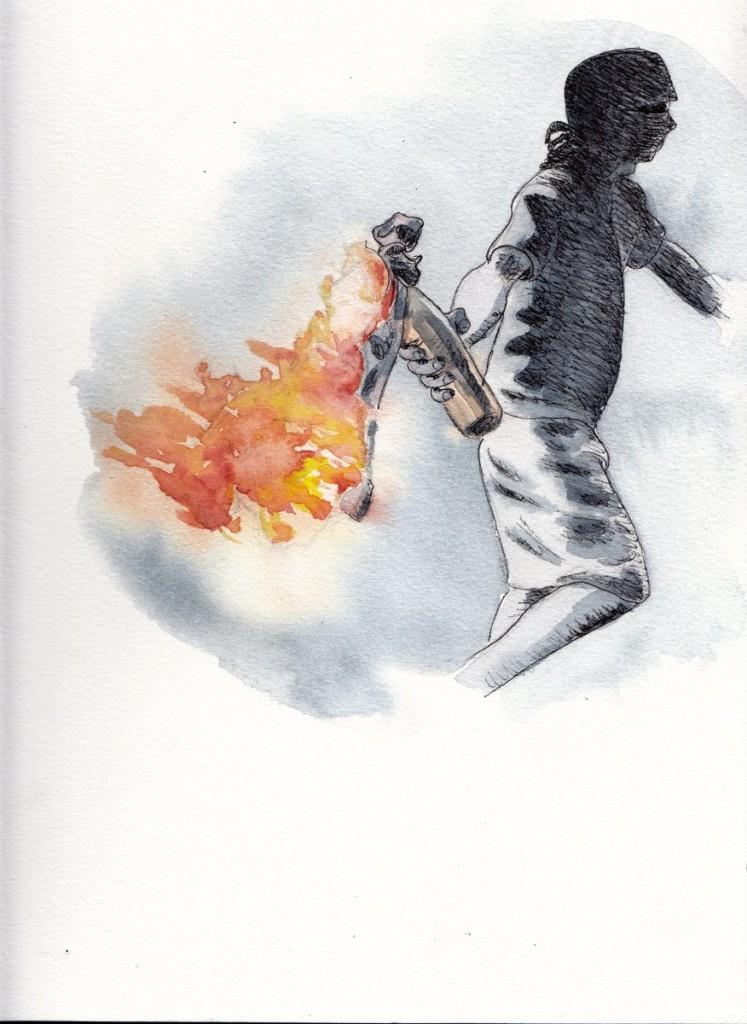 bomba molotov